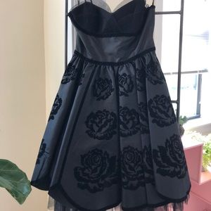 Vintage Betsey Johnson evening gown
